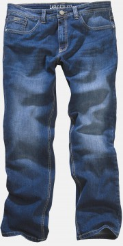 5-Pocket Jeans Enrico in Bluestone mit Stretch