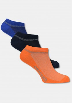 "Sneaker ""AMALFI"" 3-pack, varied"