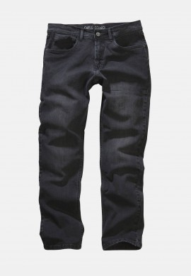 5-pocket jeans Enrico in stretch quality - darkgrey denim