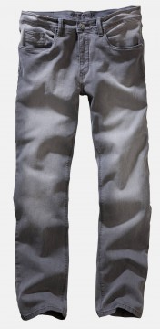 Men stretch jeans ENRICO in light gray