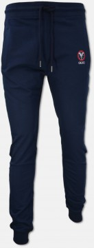 Trendy jogging pants, navy