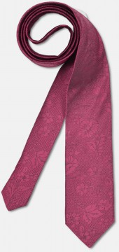 Elegant tie with discreet pattern, pink