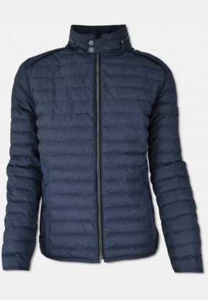 Leight weight quilted jacket, navy