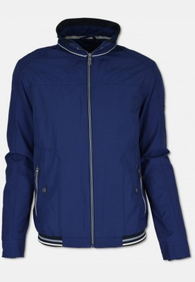 Sporty men's blouson, navy