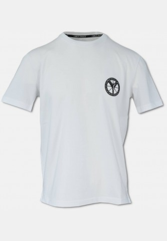 Basic logo T-Shirt with crew neck, white