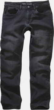 5-Pocket Jeans Enrico in Darkgrey Denim mit Stretch