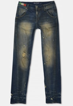 Destroyed 5-Pocket Jeans, Palermo Fit