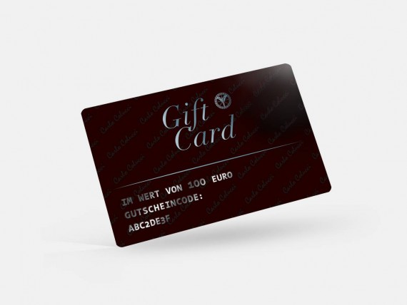 Carlo Colucci Online Shop Gift Card 100 Euro Purchase Online