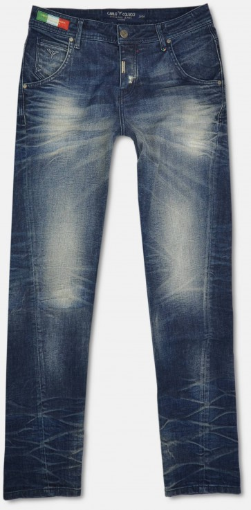 5-Pocket Jeans Palermo, Stone used destroyed  30W34L